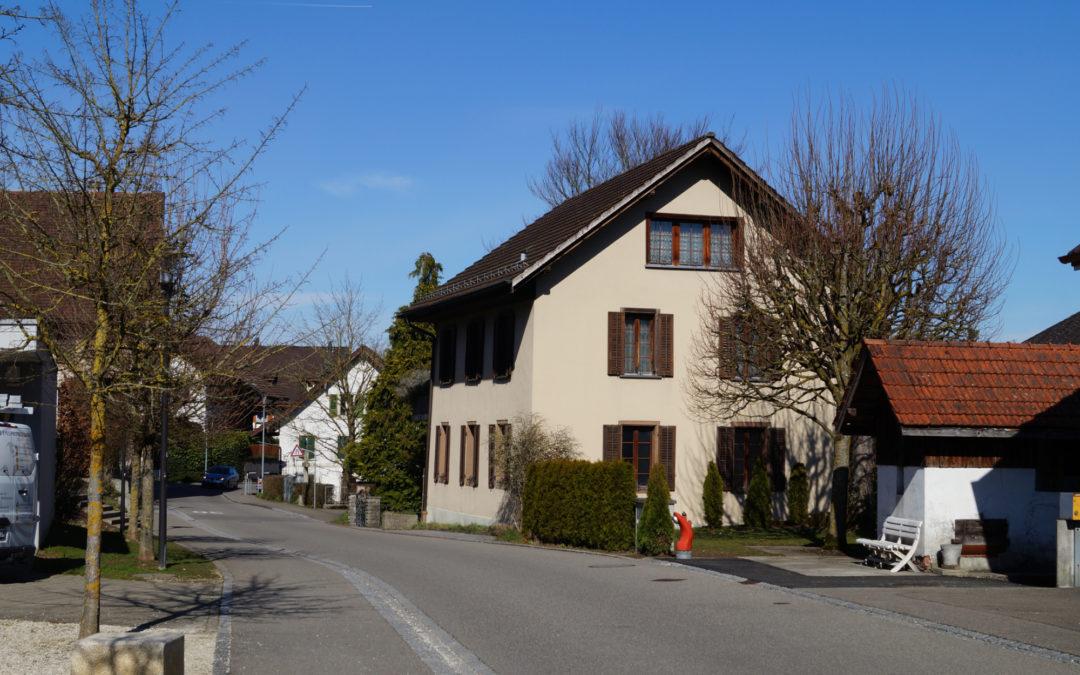 2-Familienhaus + Bauland mit Potenzial, Wohlenschwil, Dorfstrasse