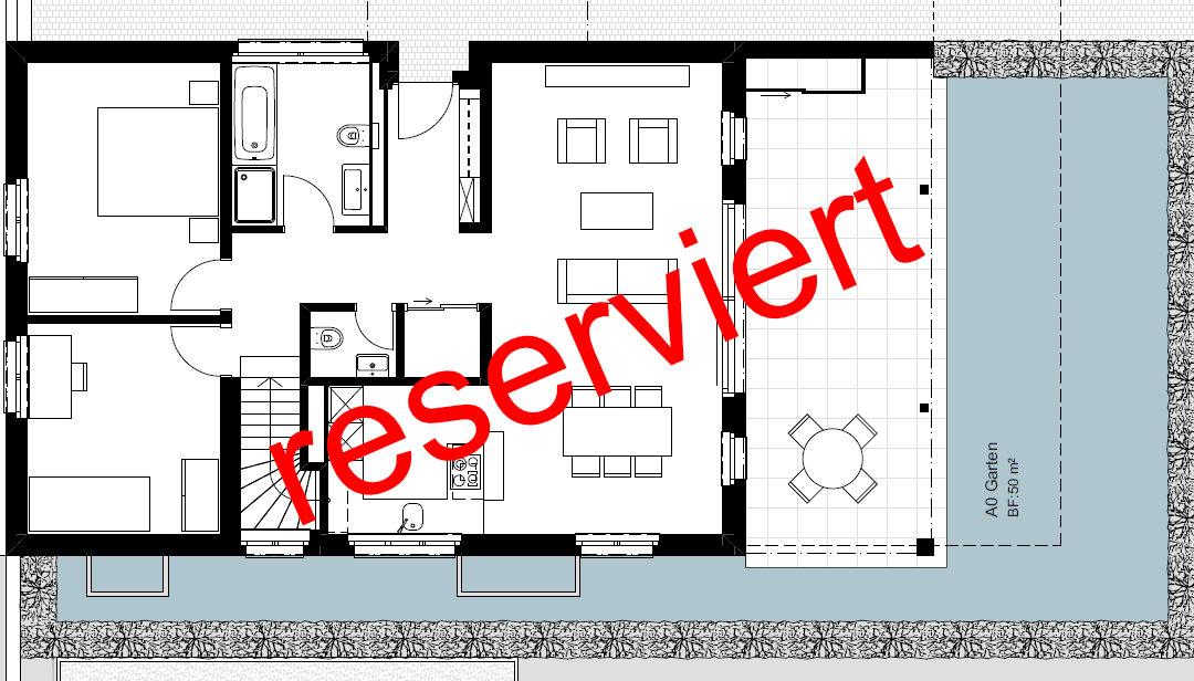 """4.5 Zimmer-Gartenwohnung """"A0"""", Wettingen"""